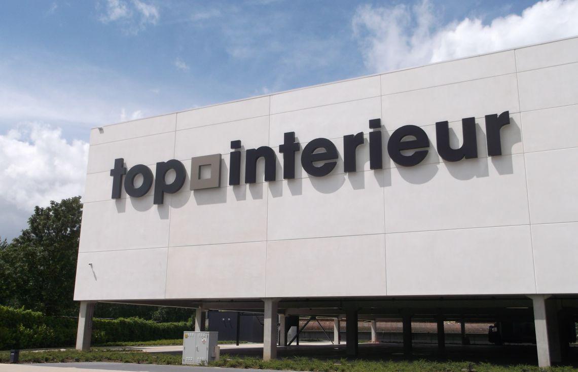 Reliëfletters Top Interieur Massenhoven Total Concept